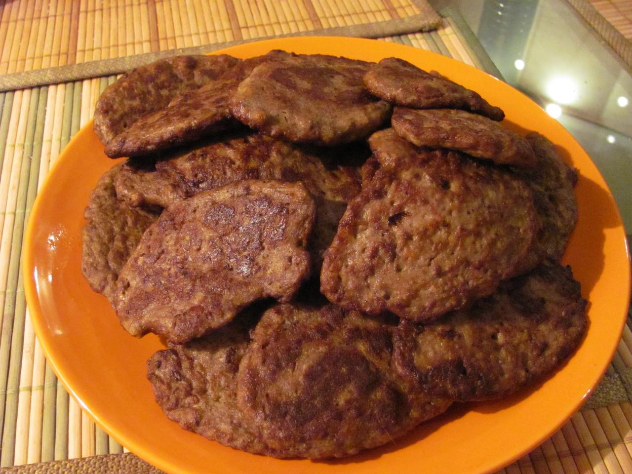 как приготовить котлеты с печенью
