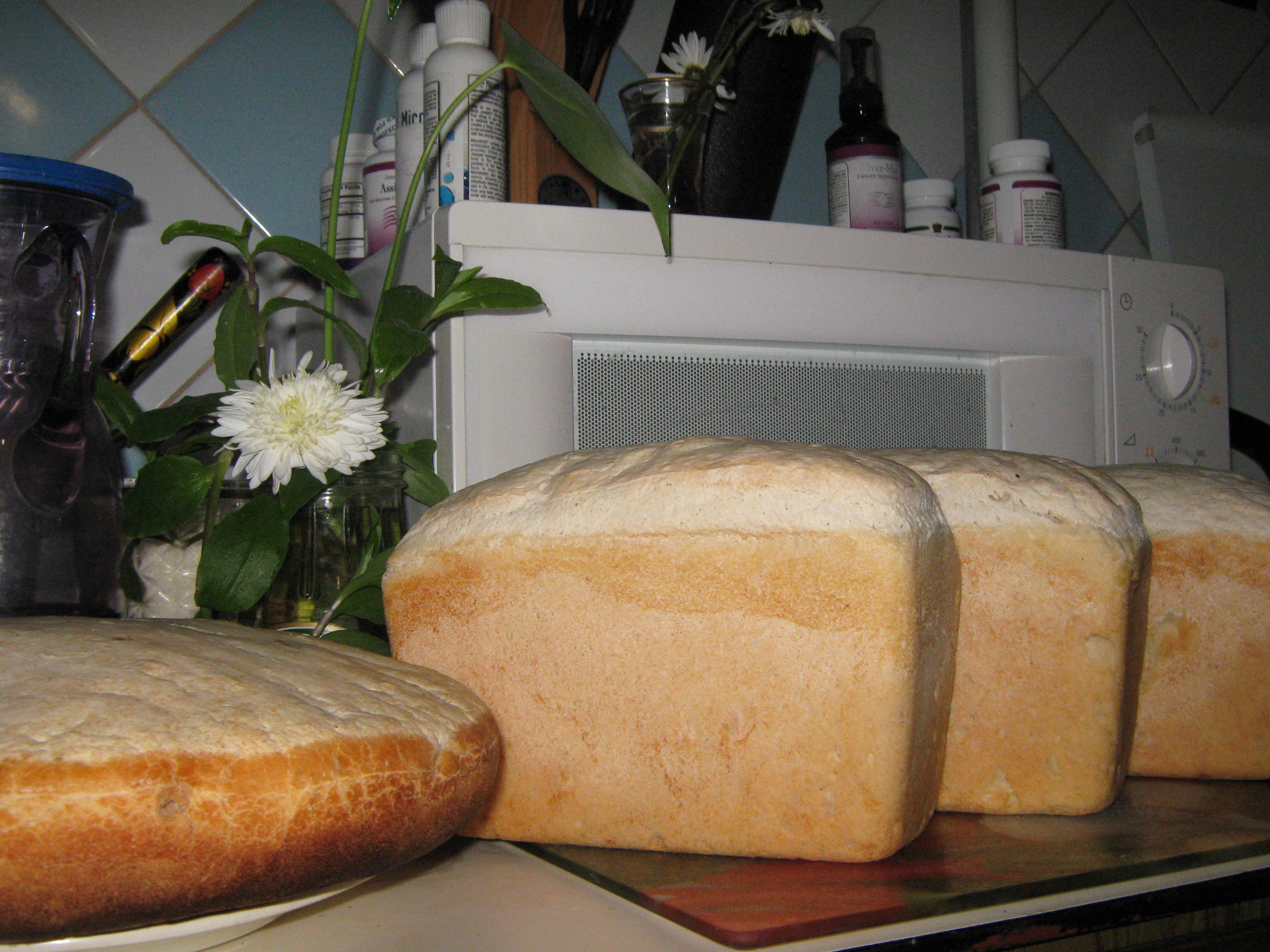 Печем в домашних условиях хлеба