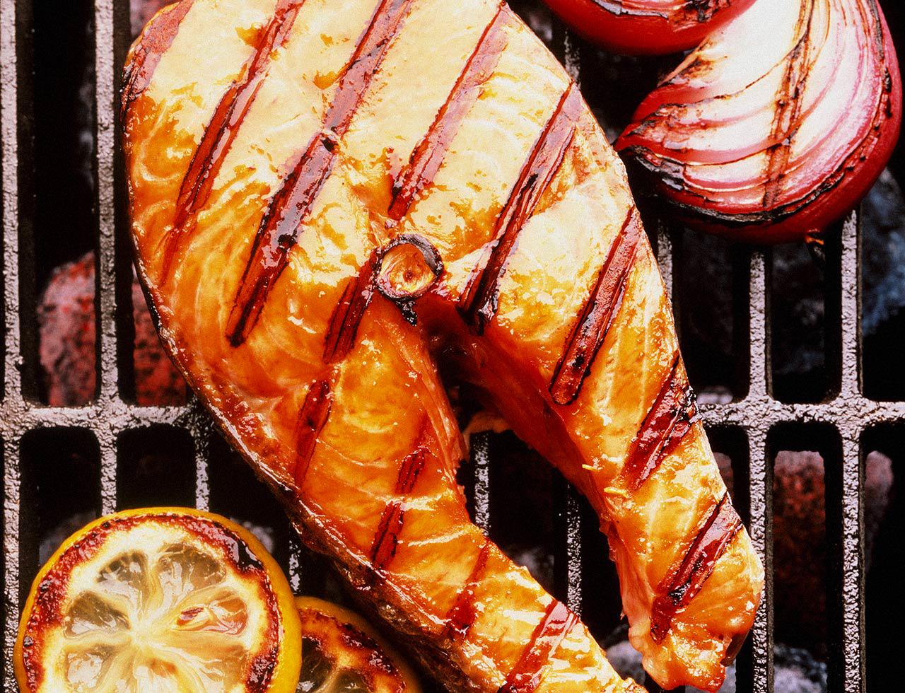 рецепт маринада для стейка из рыбы Салон Каптуру
